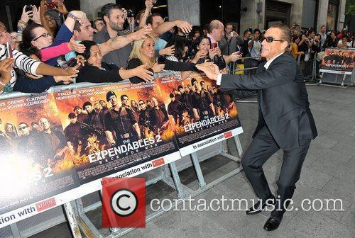 Jean Claude Van Damme and Empire Leicester Square 12