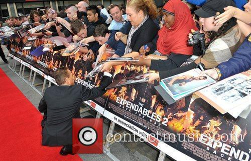 Jean Claude Van Damme and Empire Leicester Square 14