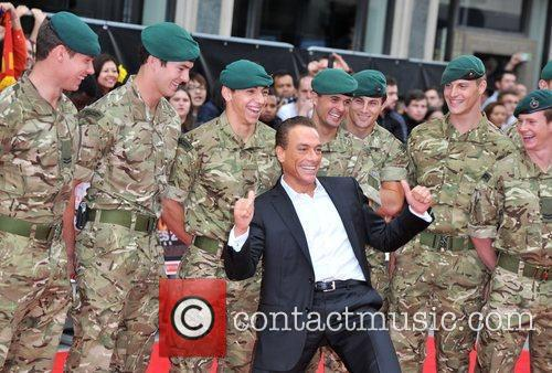 Jean Claude Van Damme and Empire Leicester Square 2