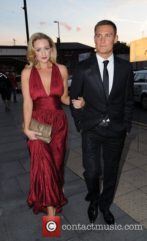 Catherine Tyldesley and Sam Witter The Genesis Ball...