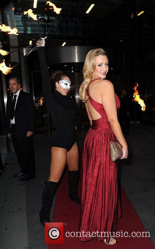 Catherine Tyldesley The Genesis Ball 2012, held at...