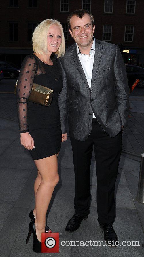 Emma Gleave and Simon Gregson The Genesis Ball...