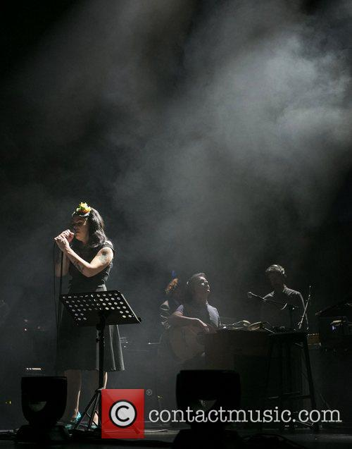 Sonia Tavares The Gift perform live at Coliseu...