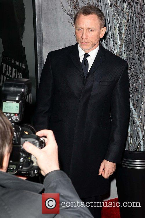 Daniel Craig New York premiere of 'The Girl...