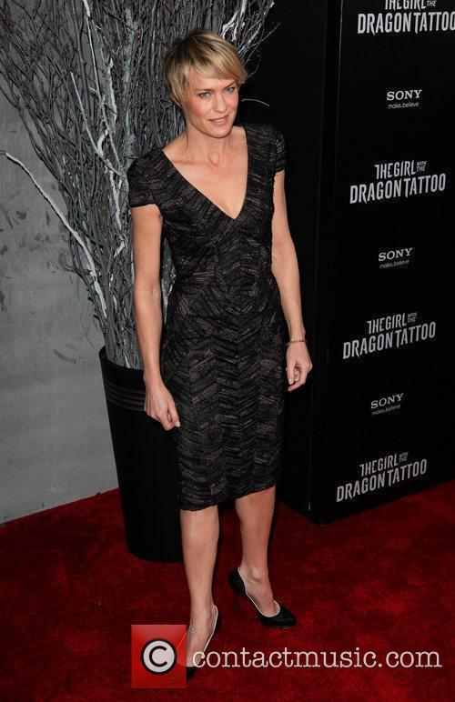 Robin Wright New York premiere of 'The Girl...