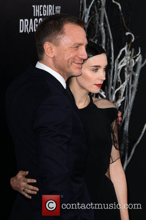 Daniel Craig and Rooney Mara New York premiere...