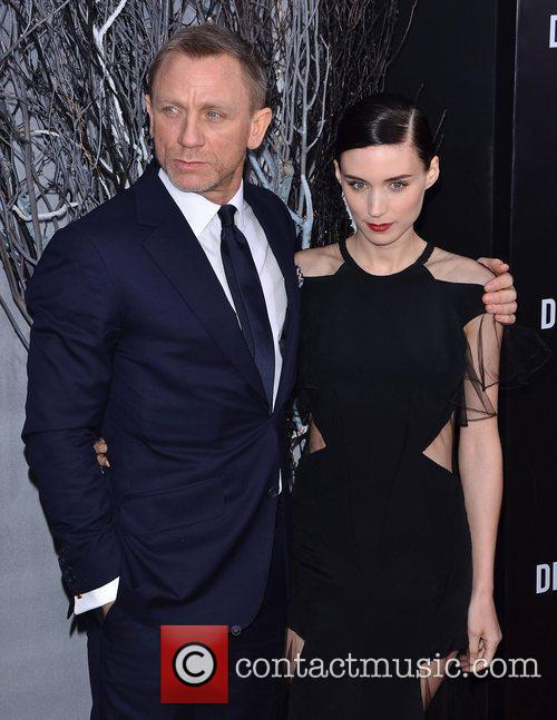 Daniel Craig and Rooney Mara 1