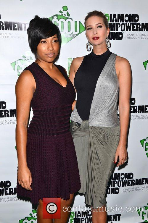 Melanie Fiona and Ivanka Trump The Diamond Empowerment...
