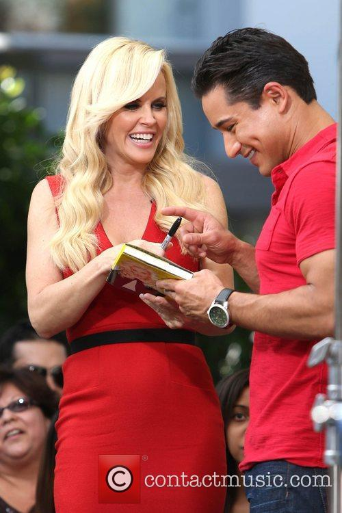 Jenny McCarthy, Extra and The Grove 16