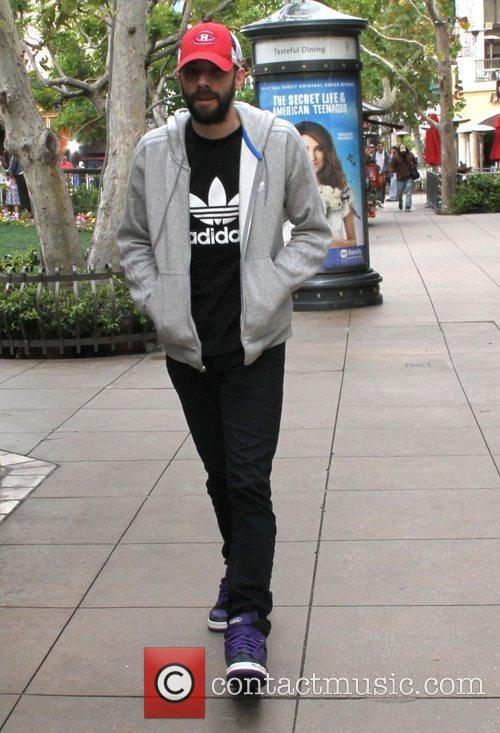 jay baruchel celebrities at the grove in 3801007