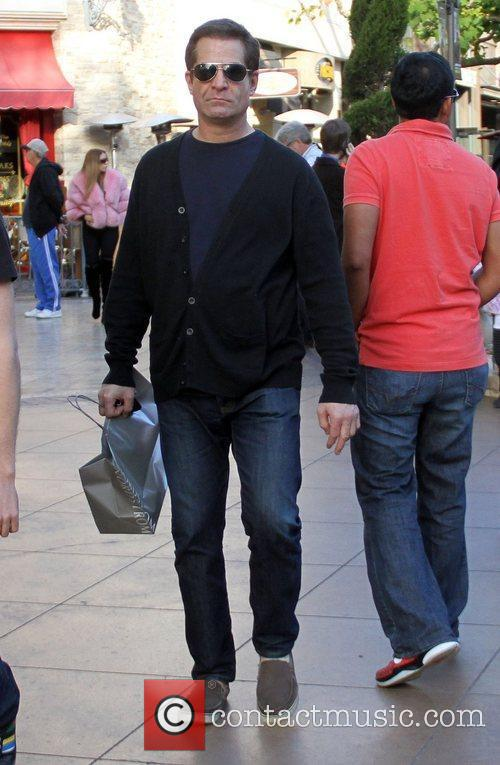 Kevin Durand Celebrities at The Grove in Hollywood...