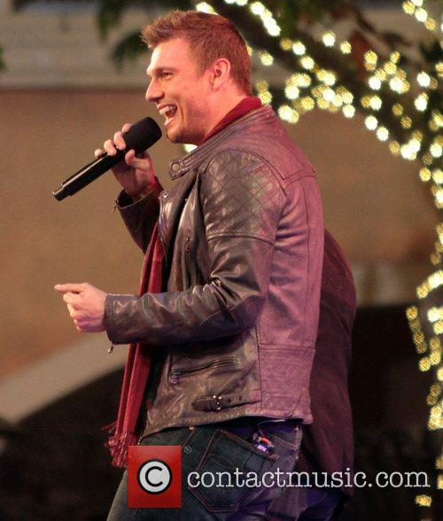nick carter the groves christmas tree lighting 4170620