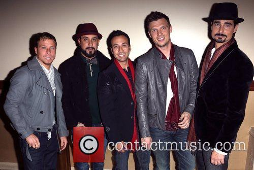 Backstreet Boys, A, L-r, Brian Littrell, J. Mclean, Howie Dorough, Nick Carter and Kevin Richardson 3
