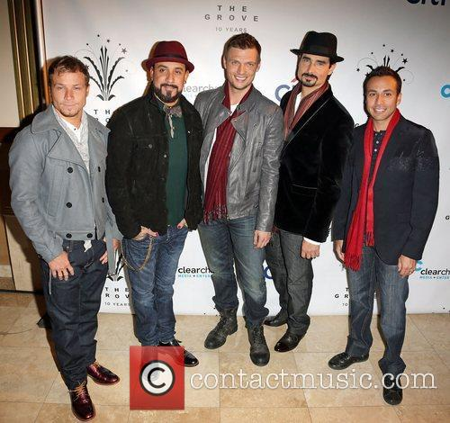 backstreet boys l r brian littrell aj mclean 4170711