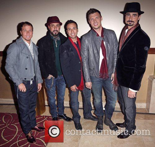 Backstreet Boys, A, L-r, Brian Littrell, J. Mclean, Howie Dorough, Nick Carter and Kevin Richardson 2