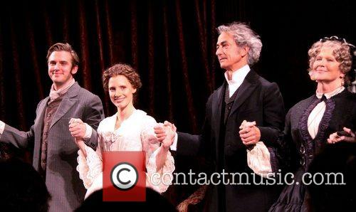 Dan Stevens, Jessica Chastain, David Strathairn and Judith Ivey 5