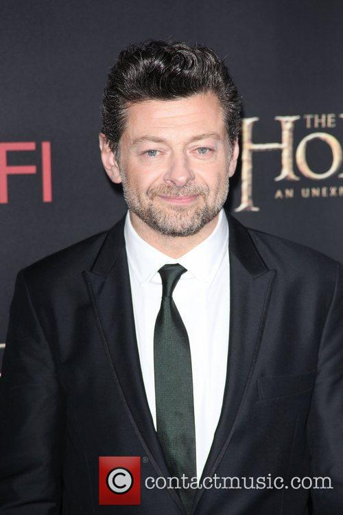andy serkis at premiere of the hobbit 4192070