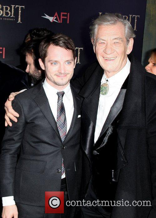 Elijah Wood and Ian Mckellen 3