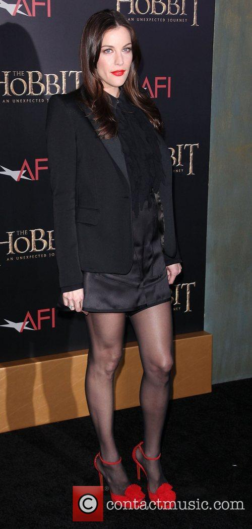 liv tyler at premiere of the hobbit 4192060