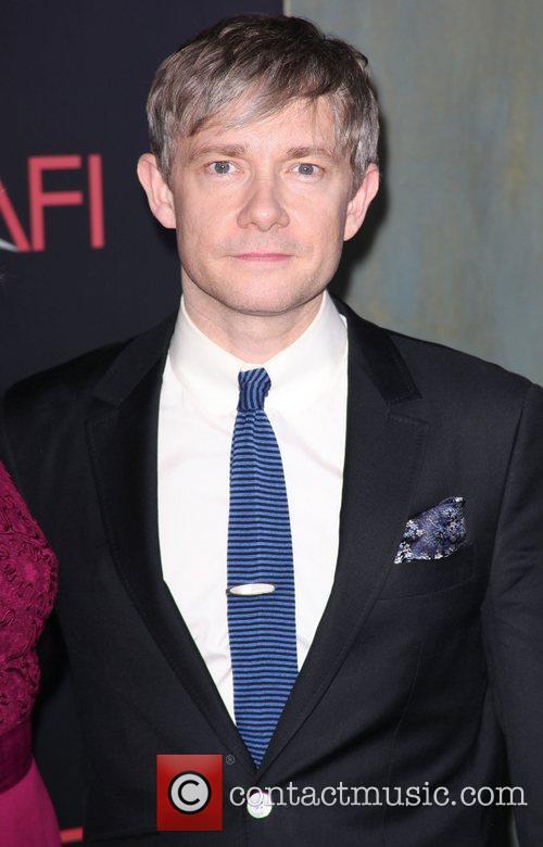 Martin Freeman,  at premiere of 'The Hobbit:...