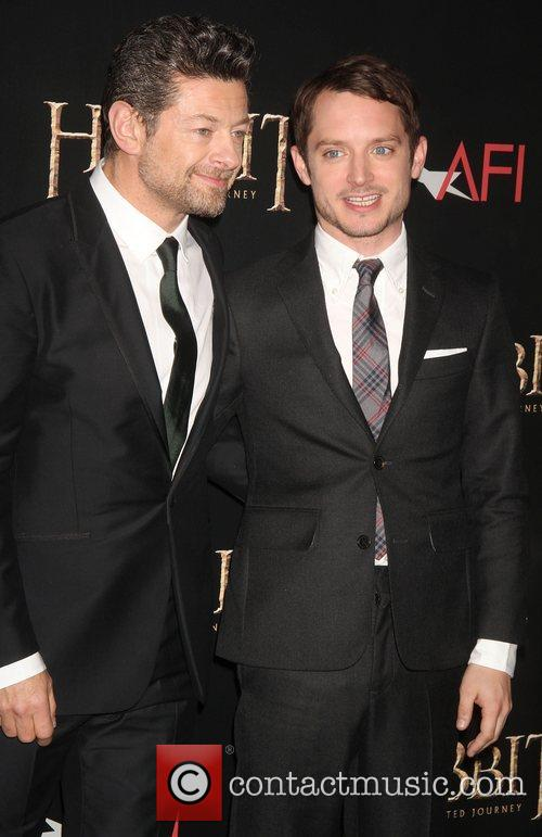 Andy Serkis and Elijah Wood 4
