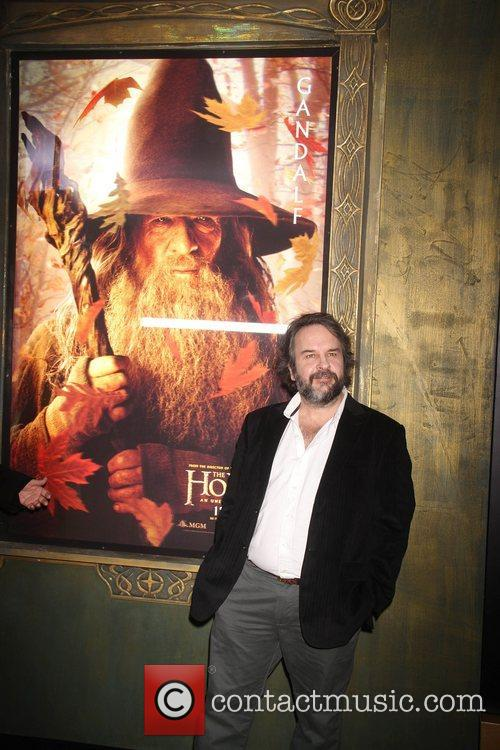 peter jackson at premiere of the hobbit 4192161