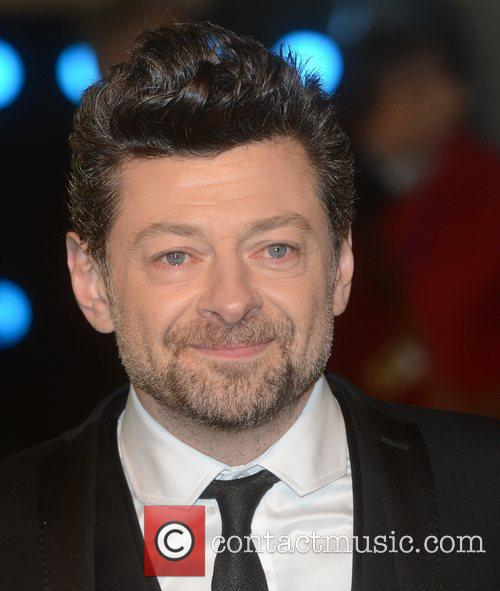 Andy Serkis, The Hobbit, Odeon, Leicester Square, London and England 2