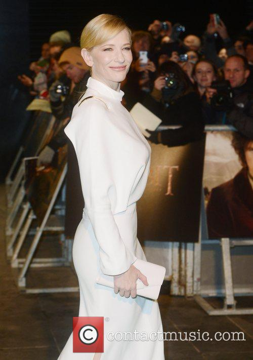 Cate Blanchett, An, The Hobbit, Odeon, Leicester Square, London and England 2