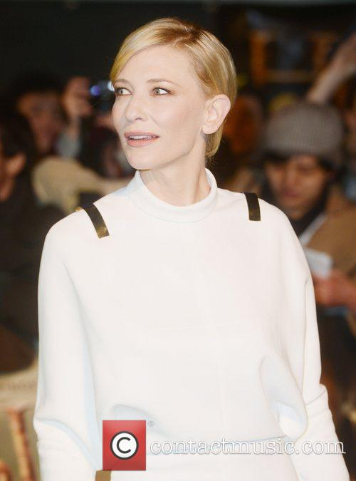 Cate Blanchett, An, The Hobbit, Odeon, Leicester Square, London and England 1