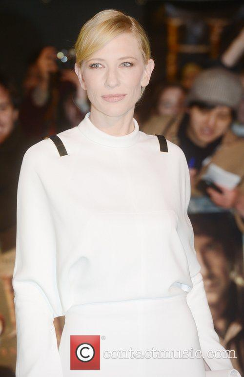 Cate Blanchett, An, The Hobbit, Odeon, Leicester Square, London and England 8