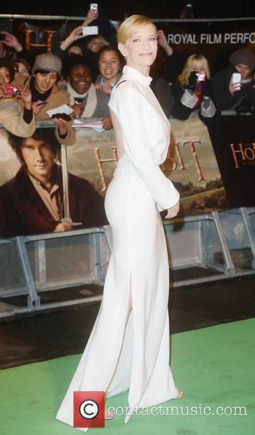 Cate Blanchett, An, The Hobbit, Odeon, Leicester Square, London and England 3
