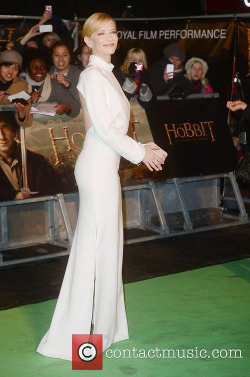 Cate Blanchett, An, The Hobbit, Odeon, Leicester Square, London and England 6