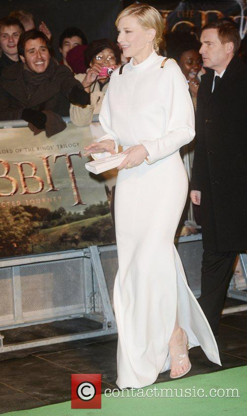 Cate Blanchett, An, The Hobbit, Odeon, Leicester Square, London and England 4