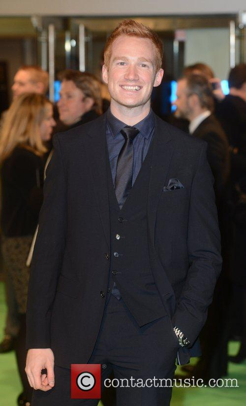 Greg Rutherford at the premiere of