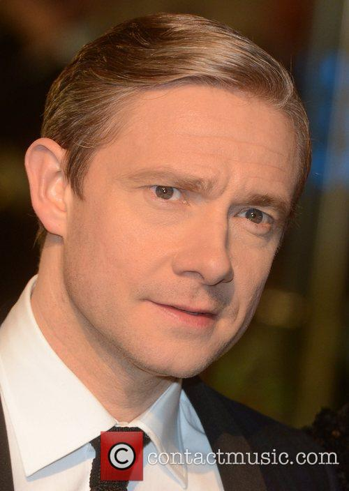 Martin Freeman, An, The Hobbit, Odeon, Leicester Square, London and England 1