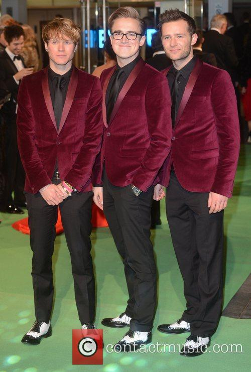 McFly at the premiere of