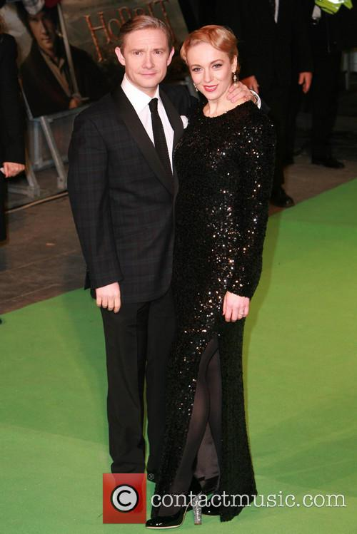 Amanda Abbington and Martin Freeman 3