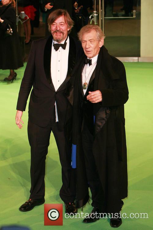 Sir Ian McKellen; Stephen Fry The Hobbit: An...