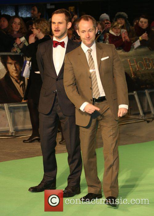 Dominic Monaghan and Billy Boyd 2