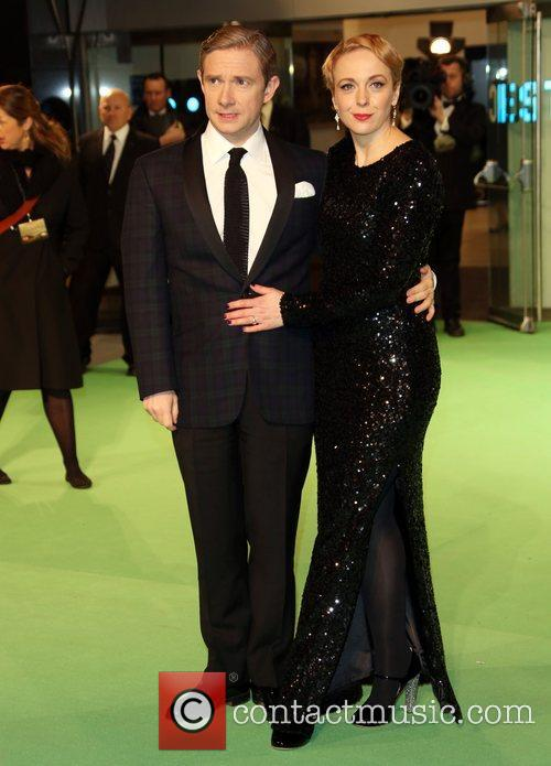 Martin Freeman and Amanda Abbington 7