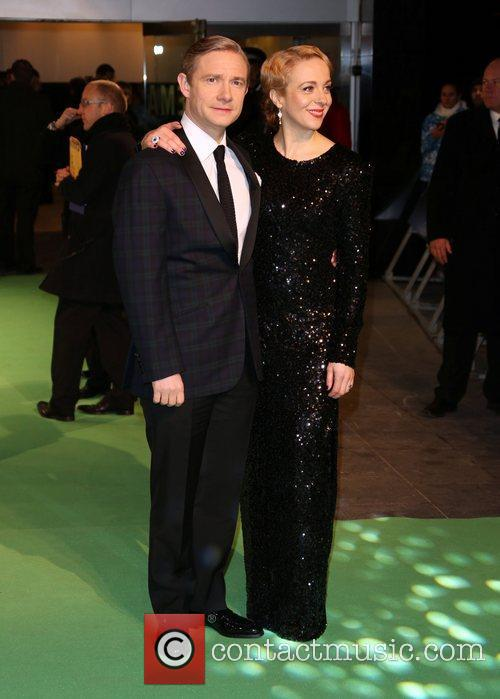 Martin Freeman and Amanda Abbington 4