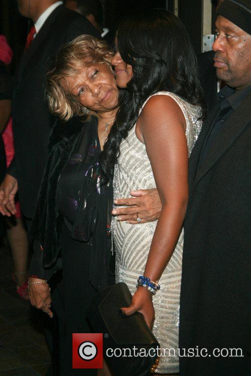 Bobbi Kristina Brown and Cissy Houston