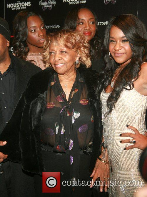 Cissy Houston and Bobbi Kristina Brown 5
