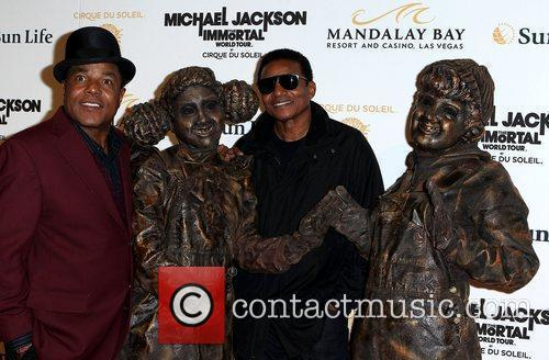 Tito Jackson and Jackie Jackson 1