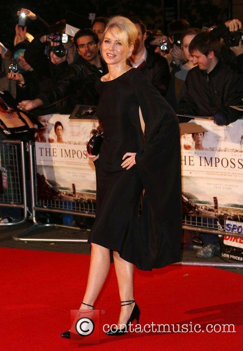 Naomi Watts The Impossible UK premiere held at...