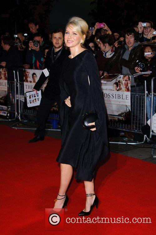 Naomi Watts The premiere of 'The Impossible'...