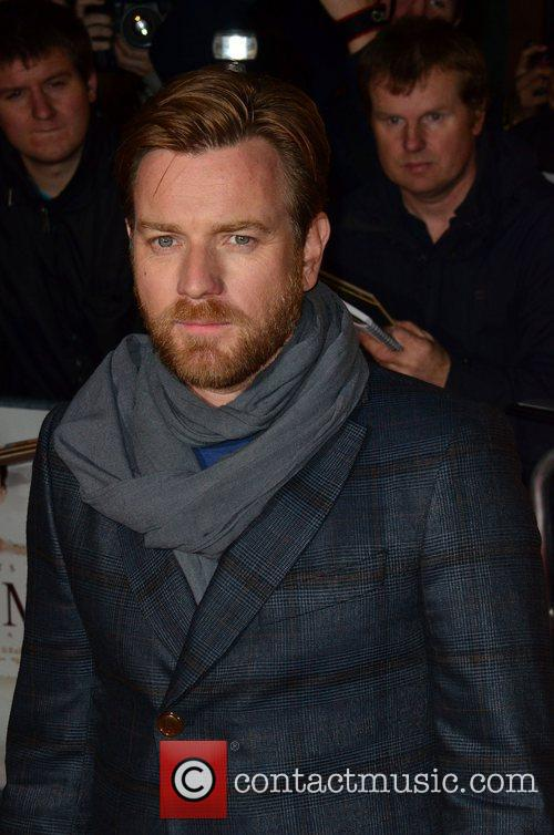 Ewan McGregor The Impossible UK premiere held at...