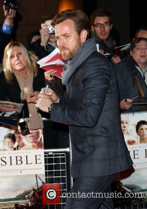 Ewan McGregor The Impossible UK Premiere