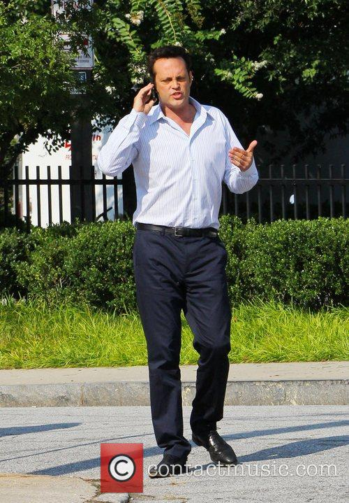 vince vaughn on the film set of 4046856