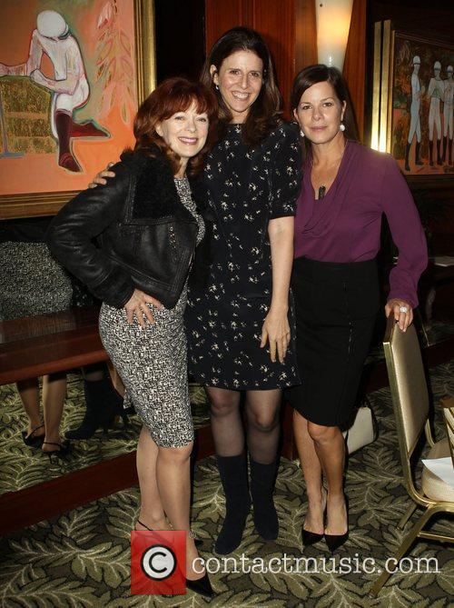 Frances Fisher, Amy Ziering and Marcia Gay Harden 2